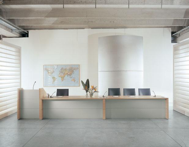 Arredo Ufficio Torino Reception - 3D Office