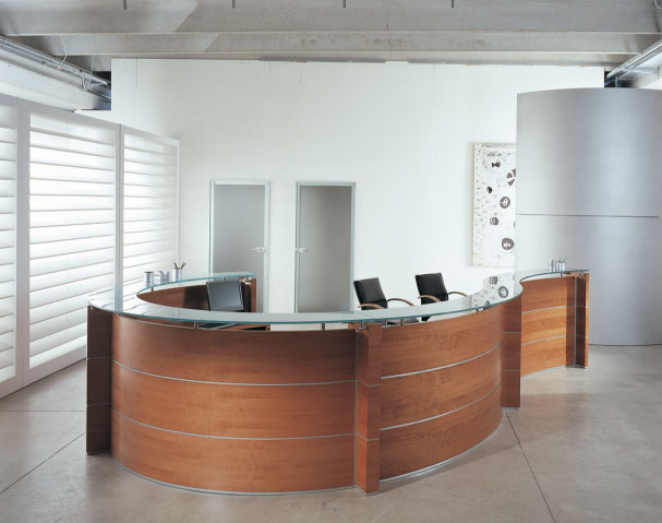 Arredo ufficio torino reception 3d office for Reception ufficio