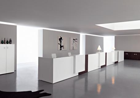 arredo ufficio torino reception 3d office