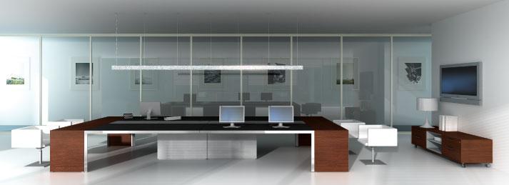Arredo Uffici Torino Semidirezionale - 3D Office